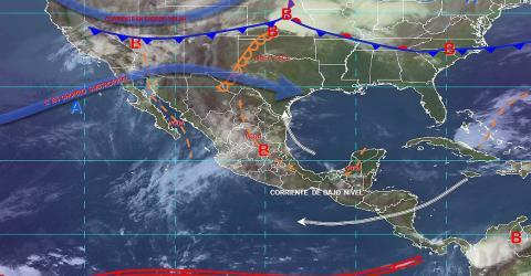 Pronóstico del tiempo en México para lunes 29 de abril del 2019