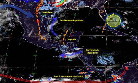 Pronóstico del tiempo en México para jueves 2 de mayo del 2019