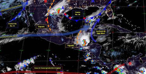Pronóstico del tiempo en México para lunes 6 de mayo del 2019