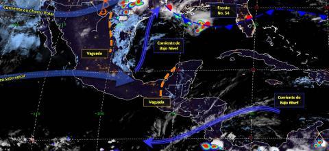 Pronóstico del tiempo en México para miércoles 8 de mayo del 2019