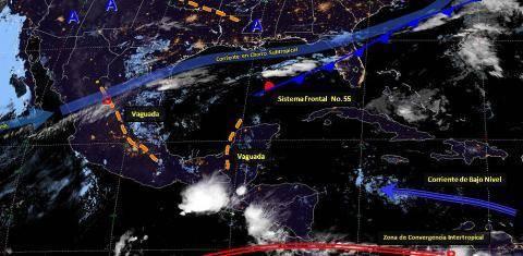 Pronóstico del tiempo en México para martes 14 de mayo del 2019
