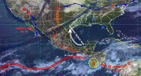 Pronóstico del tiempo en México para lunes 27 de mayo del 2019