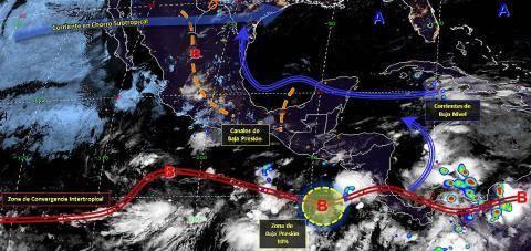 Pronóstico del tiempo en México para martes 28 de mayo del 2019