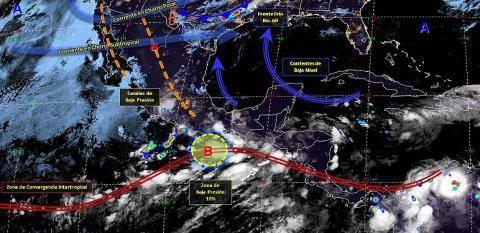Pronóstico del tiempo en México para jueves 30 de mayo del 2019