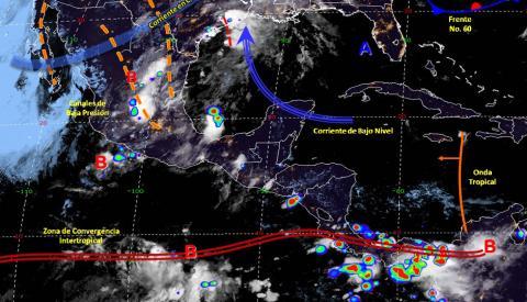 Pronóstico del tiempo en México para miércoles 5 de junio del 2019