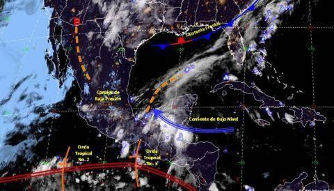 Pronóstico del tiempo en México para viernes 14 de junio del 2019
