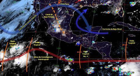 Pronóstico del tiempo en México para miércoles 19 de junio del 2019