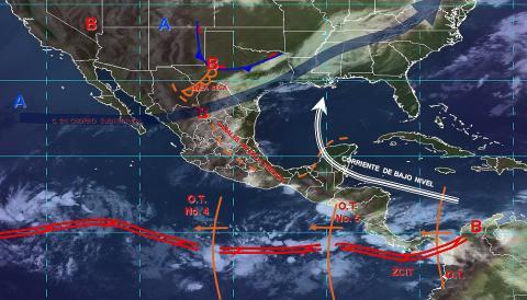 Pronóstico del tiempo en México para jueves 20 de junio del 2019