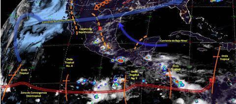 Pronóstico del tiempo en México para viernes 21 de junio del 2019
