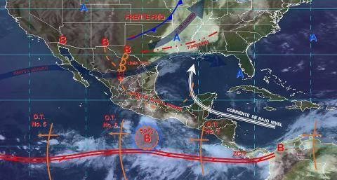 Pronóstico del tiempo en México para lunes 24 de junio del 2019