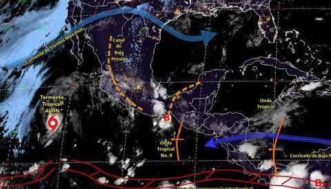 Pronóstico del tiempo en México para jueves 27 de junio del 2019