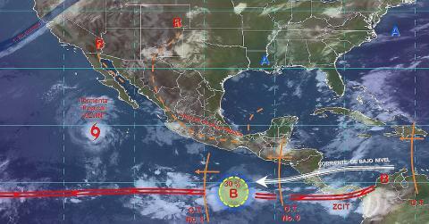 Pronóstico del tiempo en México para viernes 28 de junio del 2019