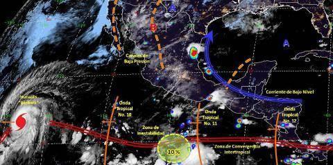 Pronóstico del tiempo en México para miércoles 3 de julio del 2019