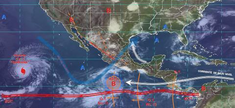 Pronóstico del tiempo en México para jueves 4 de julio del 2019