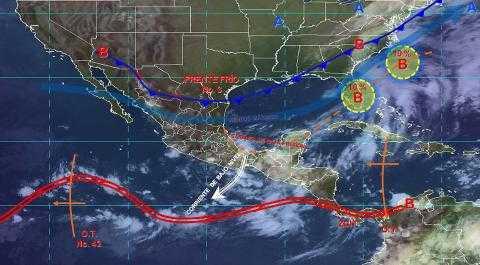 Pronóstico del tiempo en México para martes 8 de octubre del 2019