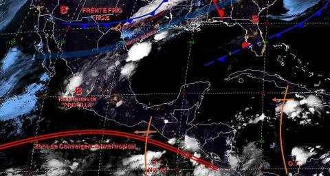Pronóstico del tiempo en México para lunes 21 de octubre del 2019
