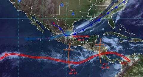 Pronóstico del tiempo en México para martes 22 de agosto del 2019
