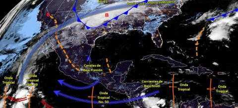 Hoy se espera ambiente frío con posibilidad de lluvias para Tlaxcala