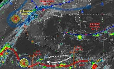 Continúa el pronóstico de lluvias y temperaturas bajas para Tlaxcala