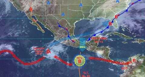 Se mantiene el pronóstico de lluvias para Tlaxcala el dia de hoy