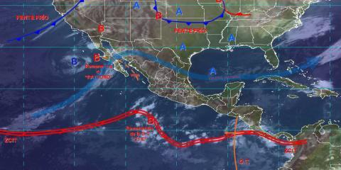 Lluvias aisladas y temperaturas bajas se registrarán el dia de hoy en Tlaxcala
