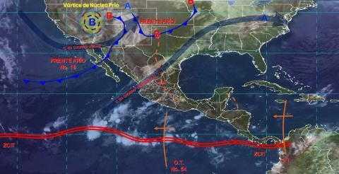 Bajarán las temperaturas de 0 a 5°C en Tlaxcala