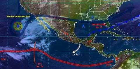 El frente frío No.17 propiciará bajas temperaturas en gran parte de Tlaxcala