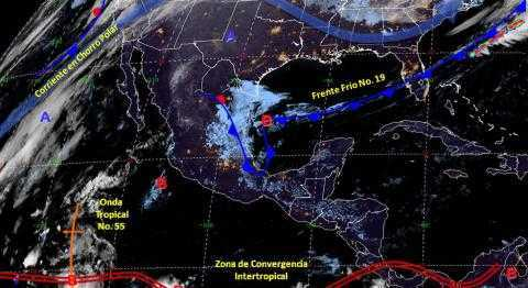 Seguirán bajando más las temperaturas durante esta semana en Tlaxcala
