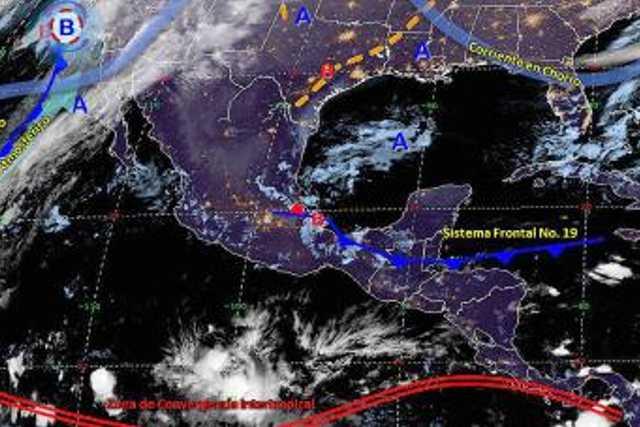 Pronóstico del tiempo en México para miércoles 4 de diciembre del 2019