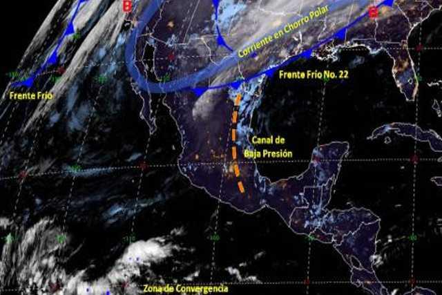 Condiciones climatológicas del día 10 de diciembre del 2019