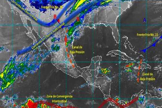 Pronóstico del tiempo en México para lunes 16 de diciembre del 2019