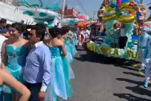 Arranca con éxito y colorido el Carnaval Xiloxoxtla 2020
