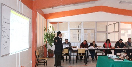 Capacitan a personal de la Dirección Académica del COBAT