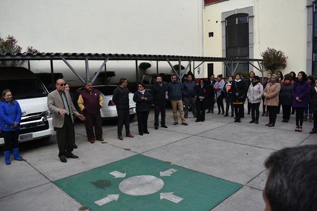 Participa COBAT en primer Macro Simulacro 2020