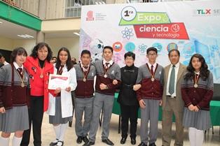 Gana Cobat Apizaco concurso de ciencia y tecnología