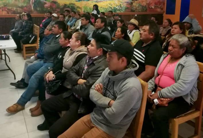 """Capacita Coeprist a comerciantes de alimentos que se instalarán en """"Tlaxcala Feria 2018"""""""