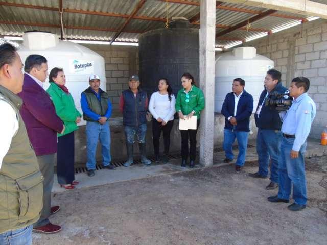Amplía Gobierno de Mena cobertura de desinfección del agua en Tlaxcala