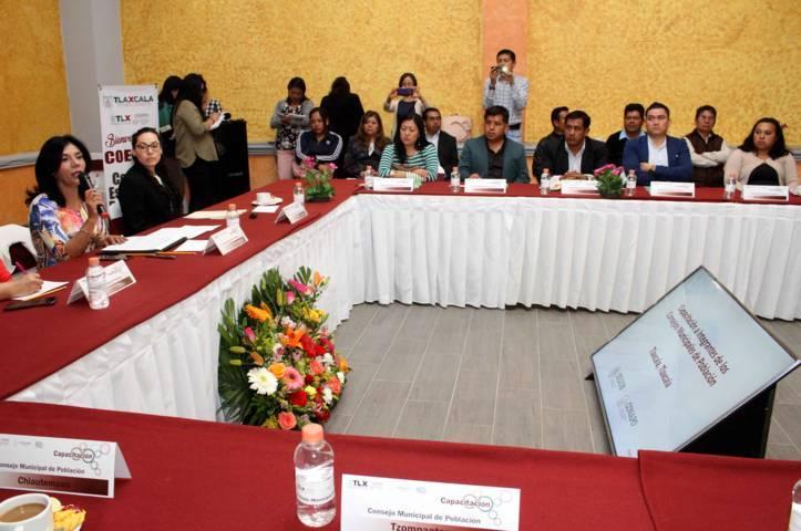 Inicia Coespo capacitación a consejos municipales