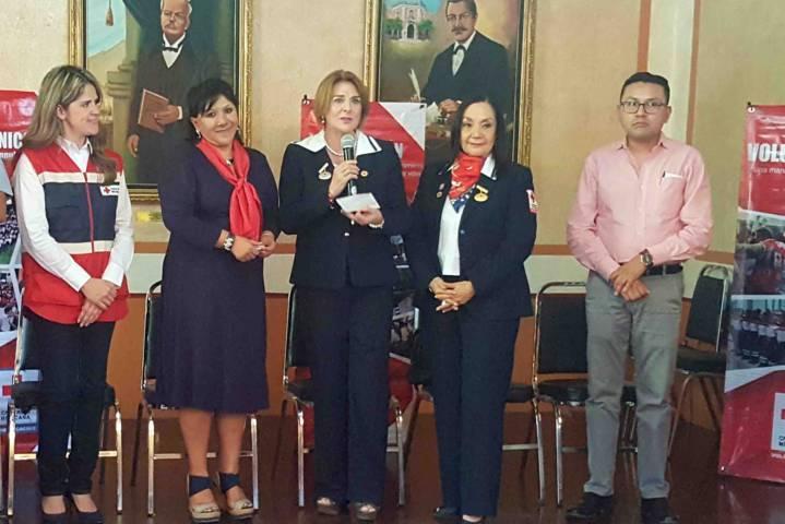 Inicia la colecta de la Cruz Roja en el municipio de Tlaxcala