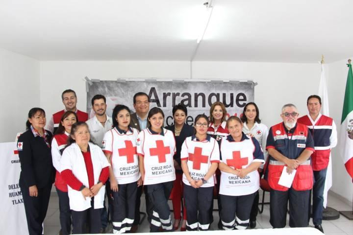 Apoyar a la Cruz Roja es saber que algún día ellos nos apoyaran a nosotros: alcalde