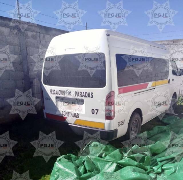Recupera PGJE colectiva robada en Panotla