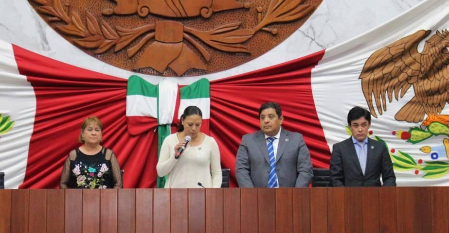 Designan a nueva presidenta de la comisión permanente