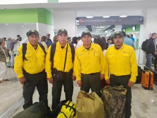 Envía México segundo contingente de 102 combatientes a Canadá
