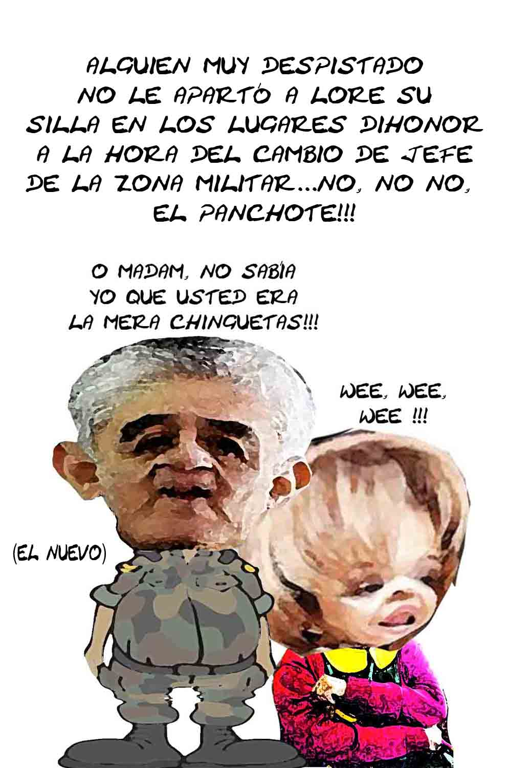 El comic político regresa