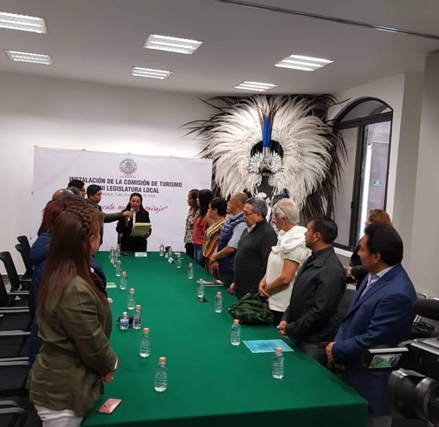 Impulsar y fortalecer el sector turístico en la entidad, compromiso de la Comisión De Turismo