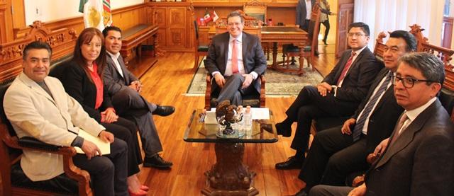 Diputados informan al Ejecutivo inicio de segundo periodo de sesiones