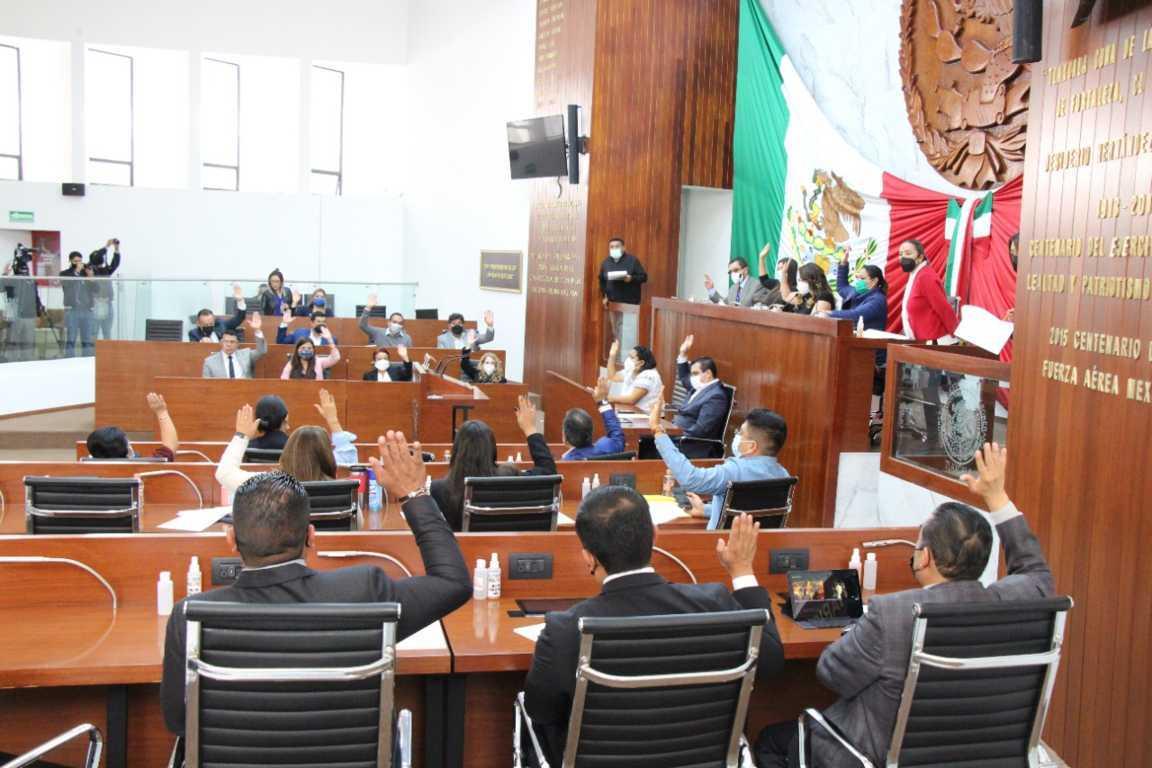 Aprueba Congreso Del Estado acuerdo para la integración de las comisiones ordinarias