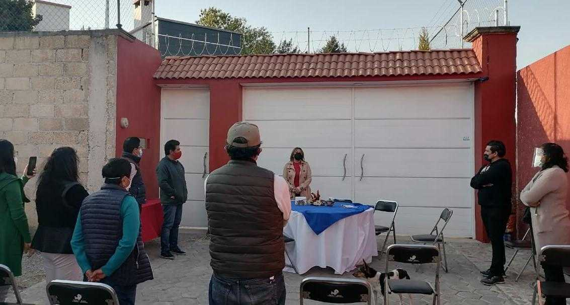 Conforma alcaldía de Tlaxcala comité de colonos en Acuitlapilco