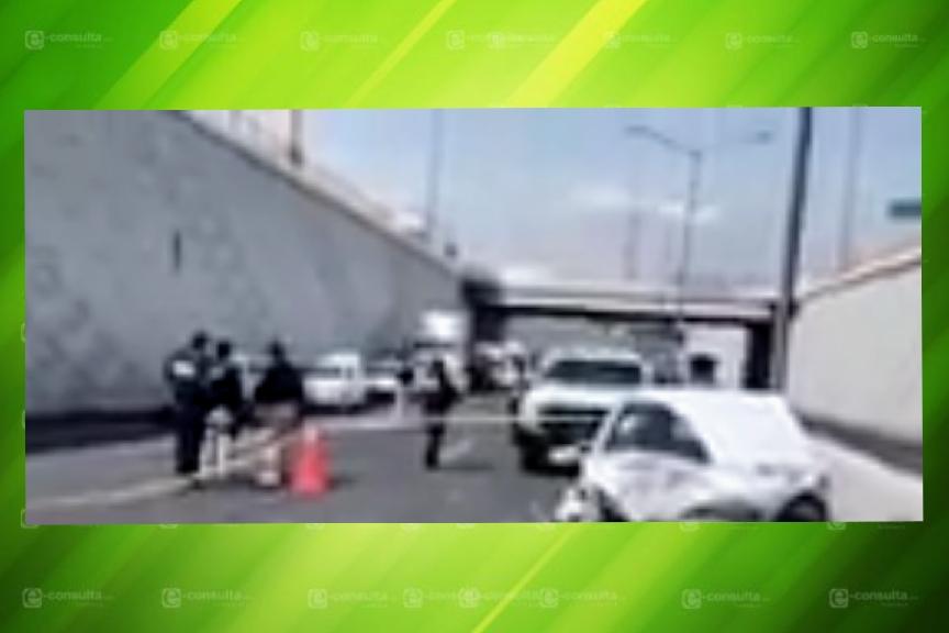 Muere policía en accidente la mañana de este sábado