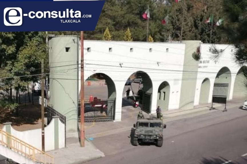 Fuerte movilización en la 23 zona militar por el arribo de la vacuna contra el Covid